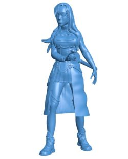 Miss Yuuki Asuna B003822 file stl free download 3D Model for CNC and 3d printer