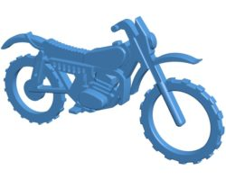 Motobike keychain B003858 file stl free download 3D Model for CNC and 3d printer