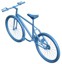 Mountain bike another B004085 file stl free download 3D Model for CNC and 3d printer