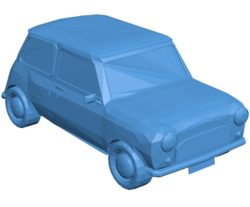 Mr bean car B003807 file stl free download 3D Model for CNC and 3d printer