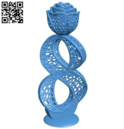 Rose 8 March B004338 file stl free download 3D Model for CNC and 3d printer