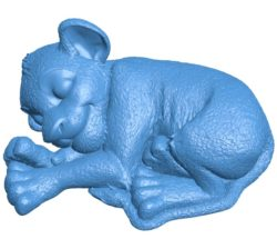 Simba Fur Lion B003967 file stl free download 3D Model for CNC and 3d printer