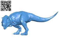 T-Rex hunting B004244 file stl free download 3D Model for CNC and 3d printer