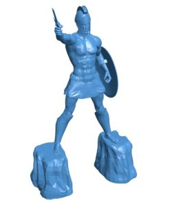 Titan Of Braavos Man B004109 file stl free download 3D Model for CNC and 3d printer