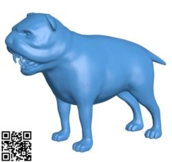 Toothy dog B004232 file stl free download 3D Model for CNC and 3d printer