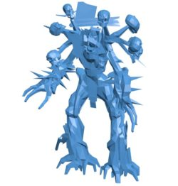 Tree man B004118 file stl free download 3D Model for CNC and 3d printer