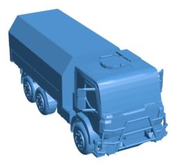 Truck B003990 file stl free download 3D Model for CNC and 3d printer