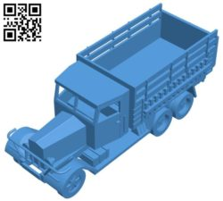 Truck Hs-33 D1 B004410 file stl free download 3D Model for CNC and 3d printer