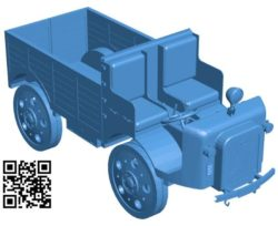 Truck OM 35 B004235 file stl free download 3D Model for CNC and 3d printer