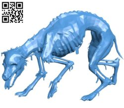 Undead dog B004428 file stl free download 3D Model for CNC and 3d printer