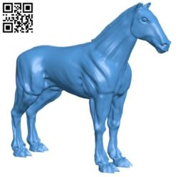 Undead horse B004423 file stl free download 3D Model for CNC and 3d printer