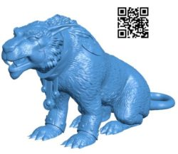 Wolf B004254 file stl free download 3D Model for CNC and 3d printer