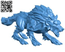 Wolf B004359 file stl free download 3D Model for CNC and 3d printer