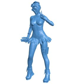 Women dangerous greeting B003870 file stl free download 3D Model for CNC and 3d printer