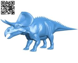 Zuniceratops Dinosaur B004304 file stl free download 3D Model for CNC and 3d printer