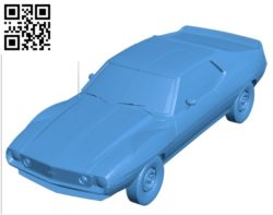AMC Javelin car B004587 file stl free download 3D Model for CNC and 3d printer