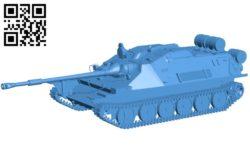 ASU 85 tank B004787 file stl free download 3D Model for CNC and 3d printe
