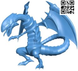 Anime dragon B004784 file stl free download 3D Model for CNC and 3d printer