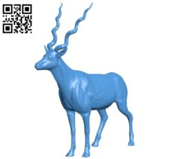 Antelope B004785 file stl free download 3D Model for CNC and 3d printer