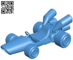 B dasher car B004790 file stl free download 3D Model for CNC and 3d printe