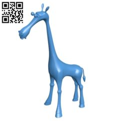 Baby Giraffe B004792 file stl free download 3D Model for CNC and 3d printe
