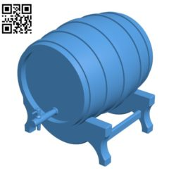 Bar barrel B004613 file stl free download 3D Model for CNC and 3d printer