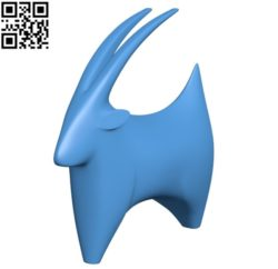 Billy goat B004765 file stl free download 3D Model for CNC and 3d printer