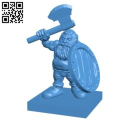 Brok armed man B004808 file stl free download 3D Model for CNC and 3d printer