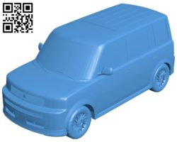 Car Scion xB Toyota B004548 file stl free download 3D Model for CNC and 3d printer