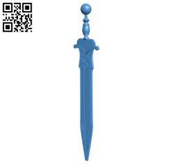 Centurion sword B004825 file stl free download 3D Model for CNC and 3d printer