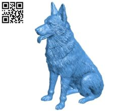 Dog B004449 file stl free download 3D Model for CNC and 3d printer