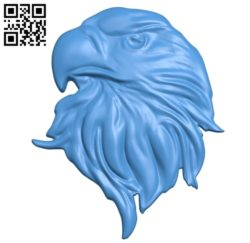 Eagle head A003577 wood carving file stl for Artcam and Aspire free art 3d model download for CNC