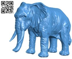 Elephant B004539 file stl free download 3D Model for CNC and 3d printer