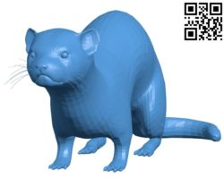Ferret B004708 file stl free download 3D Model for CNC and 3d printer