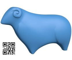 Goat B004762 file stl free download 3D Model for CNC and 3d printer