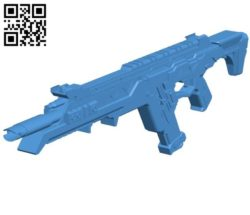 Gun R301 B004571 file stl free download 3D Model for CNC and 3d printer