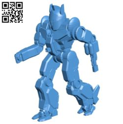 HER-1A robot B004734 file stl free download 3D Model for CNC and 3d printer
