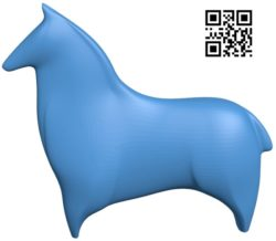 Horse B004766 file stl free download 3D Model for CNC and 3d printer