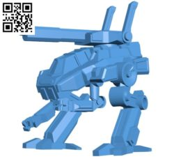 Hussar robot B004662 file stl free download 3D Model for CNC and 3d printer