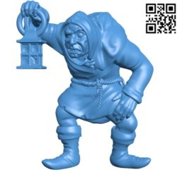 Igor man B004671 file stl free download 3D Model for CNC and 3d printer