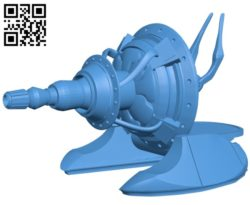 LR1K gun B004746 file stl free download 3D Model for CNC and 3d printer