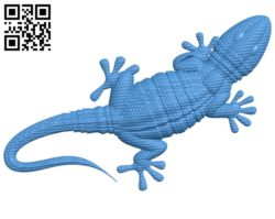 Lizard A003583 wood carving file stl for Artcam and Aspire free art 3d model download for CNC