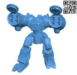 Long bow robot B004668 file stl free download 3D Model for CNC and 3d printer
