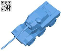 Lynx Tank B004456 file stl free download 3D Model for CNC and 3d printer