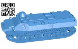 MTLB tank B004751 file stl free download 3D Model for CNC and 3d printer
