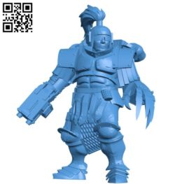 Man thunder warrior B004487 file stl free download 3D Model for CNC and 3d printer