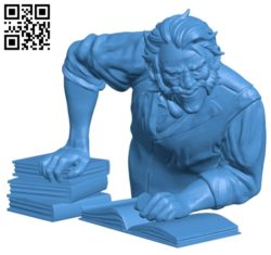 Mr Durnan B004644 file stl free download 3D Model for CNC and 3d printer