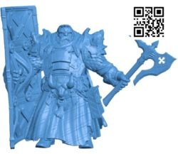 Mr Dwarf B004645 file stl free download 3D Model for CNC and 3d printer