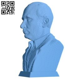 Mr Putin B004705 file stl free download 3D Model for CNC and 3d printer