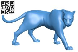 Panther B004663 file stl free download 3D Model for CNC and 3d printer